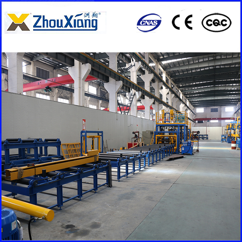 Horizontal H beam Production Welding Line
