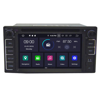 HIFIMAX Android 9.0 Best Price OEM Car Radio Navigation For Toyota Universal 2 DIN Car DVD Player Support Bluetooth DAB WIFI