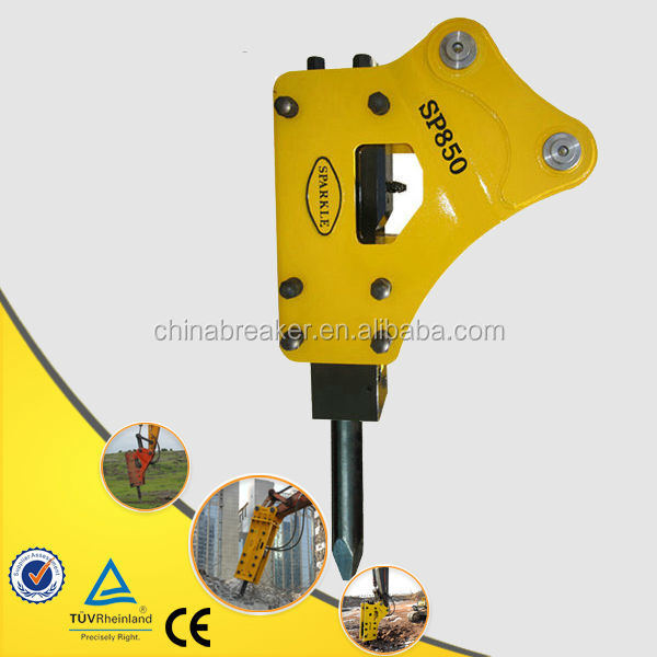 Rock Drill Breaking Tools Hydraulic Hammer Breaker Sparkle SP850