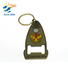 Custom Logo metal bottle opener keychain,wine bottle opener