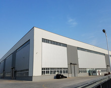 qingdao dfx first class prefabricated steel structure warehouse and building