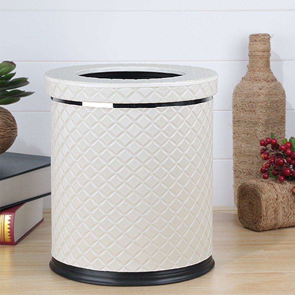 European-style household living room trash can/Kitchen bathroom trash/Creative simplicity trash-D
