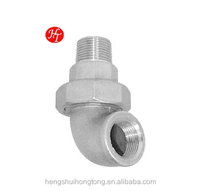 Stainless Steel 90 Degree Elbow Union pipe fitting