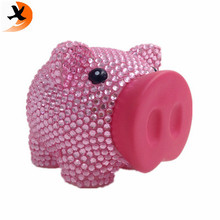 Factory direct supply 10 cm bling spaarpot
