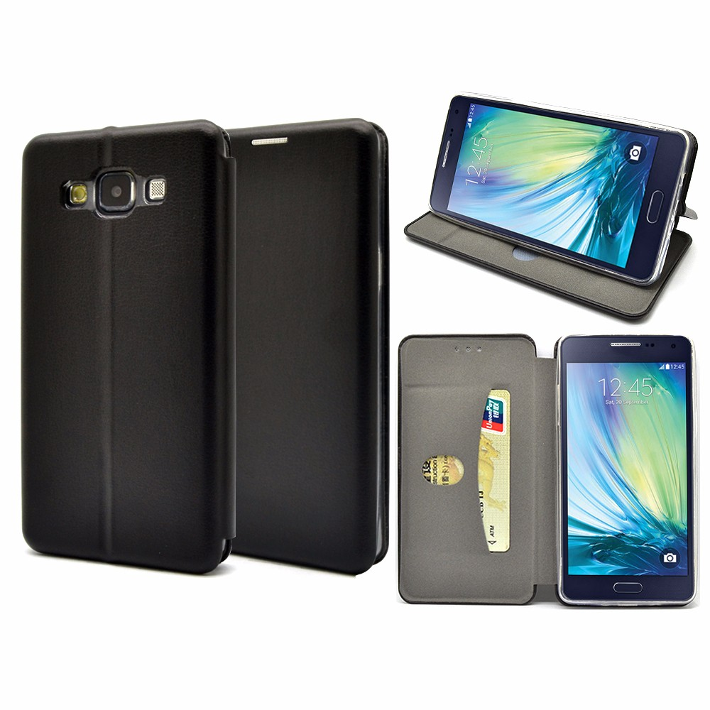 High-end full curved slim leather mobile phone case for Samsung Galaxy A5
