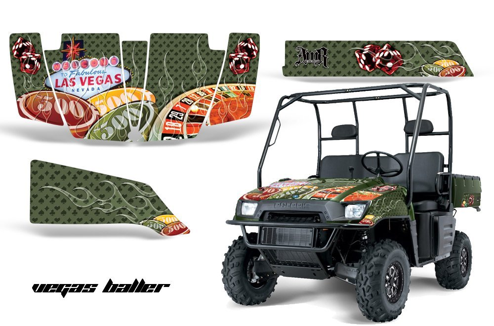 Buy AMRRACING Polaris Ranger 500 700 2005-2008 Full Custom UTV