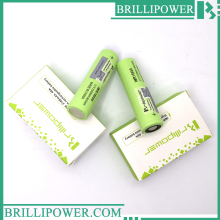Brillipower 18650 battery 40A 3.7v 3100mah ecig rechargeable 18650 3100mah 40A li-ion battery e cigarette