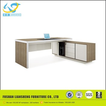 Modern Executive Desk Office Table Design Long Ceo Side