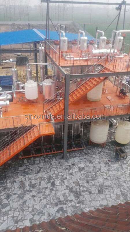 full automatic long usage life used cooking oil for biodiesel plant