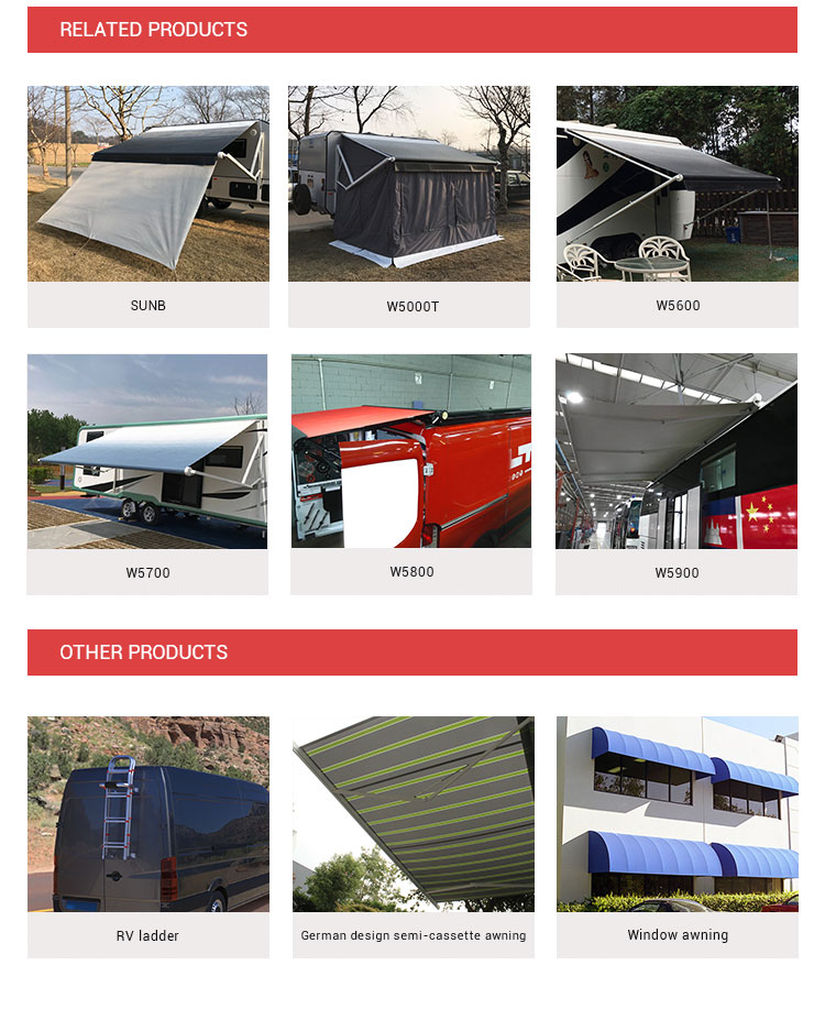 Retractable car awning awning car car side awning