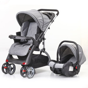 7''EVA wheels wholesale baby toddler stroller trolley