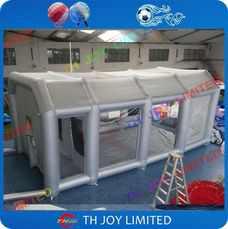 8x4x3 m gonflable cabine de peinture gonflable cabine de pulv risation gonflable cabine de. Black Bedroom Furniture Sets. Home Design Ideas