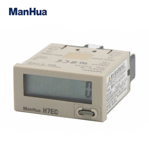 ManHua H7EC-N Self-Power Internal Lithium Long Life Battery Counter No Voltage Input Digital Counter