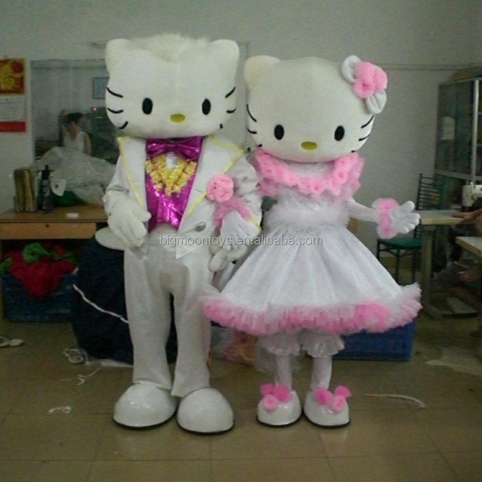 2016 hot hello kitty mascot costume