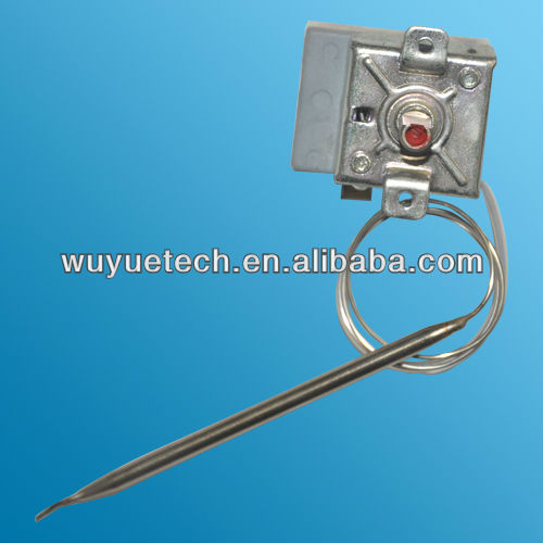temperature control Stainless Steel Capillary Thermostat for the heating electrical appliances