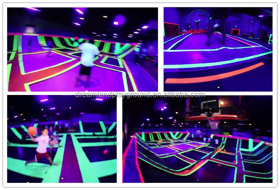 Customized Indoor Trampoline Park Id 9600915 Buy China