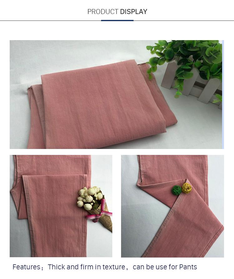 Cotton Nylon Spandex Bi-Stretch Fabric Use For Trousers