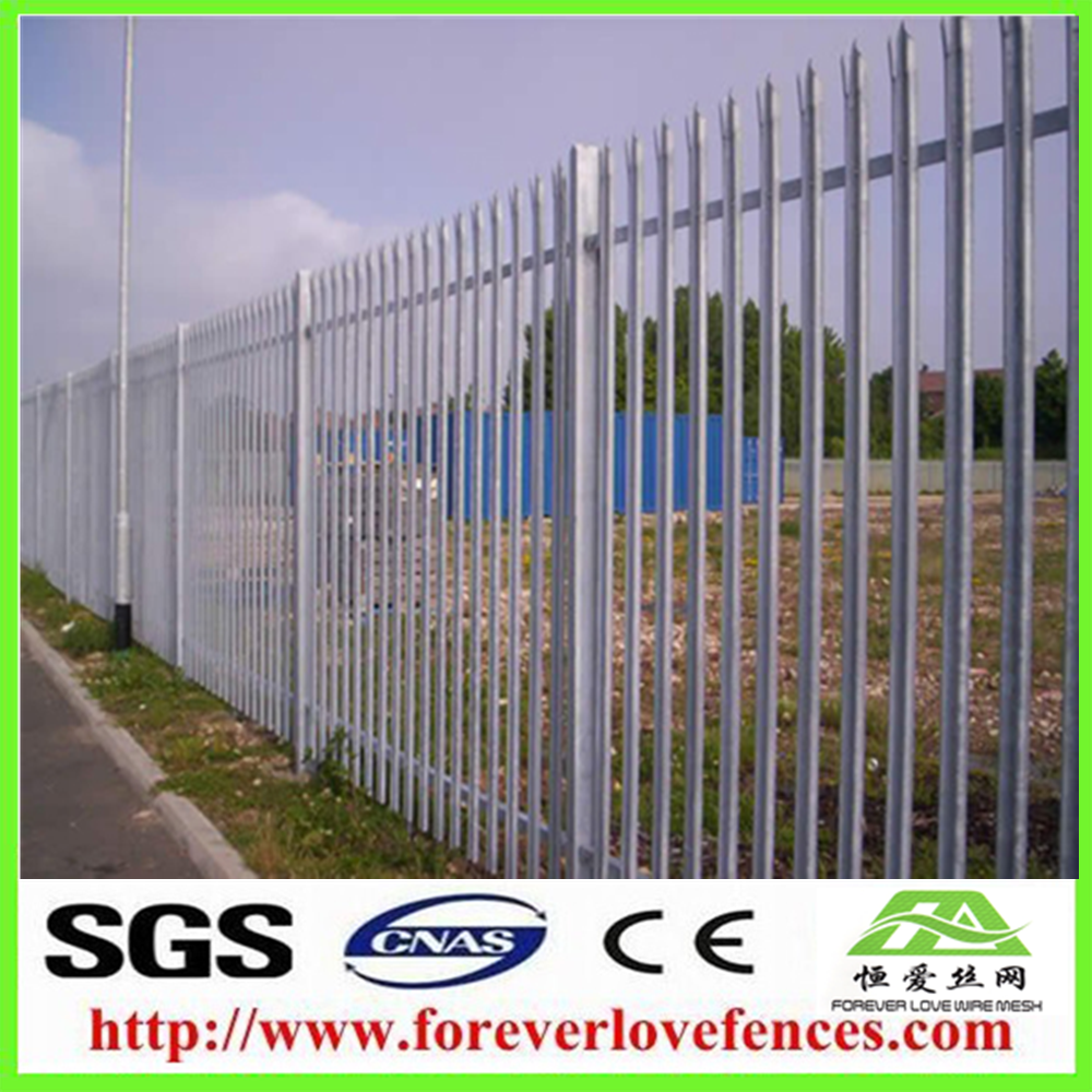 Manufacturer of low price Aluminum cheap garden gates/fence screen/Galvanized Iron Fence aluminium fence on Alibaba