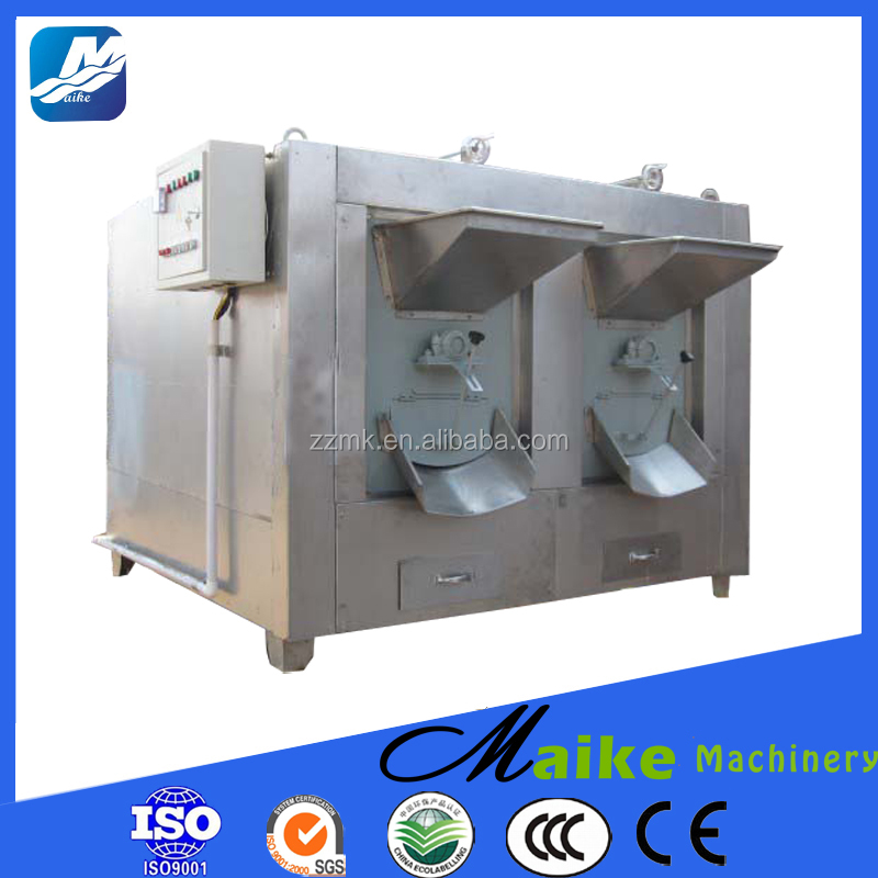 Different capacity peanuts roaster, groundnut roaster machine