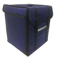 foldable ice cooler box soft pack hot pizza food delivery bag backpack bike large insulated cooler bag