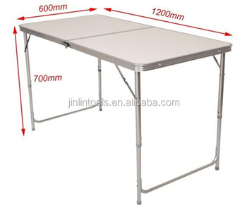 Ft Aluminium Folding Portable Camping Picnic Party Dining Table - Picnic table specs