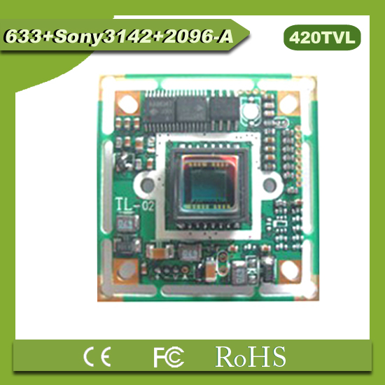 "(PAL)Original 1/3"" 420TVL SONY CCD camera chipboard 3142+SONY633+3796 good night vision security camera in promotion"