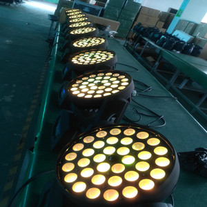 2016 new products dmx led rgbw 36x10W LED zoom light moving head wash light price