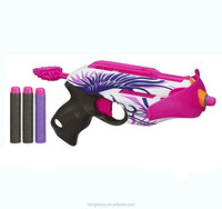 wholesale good quality soft bullet toy guns Rebelle Pink Crush Blaster