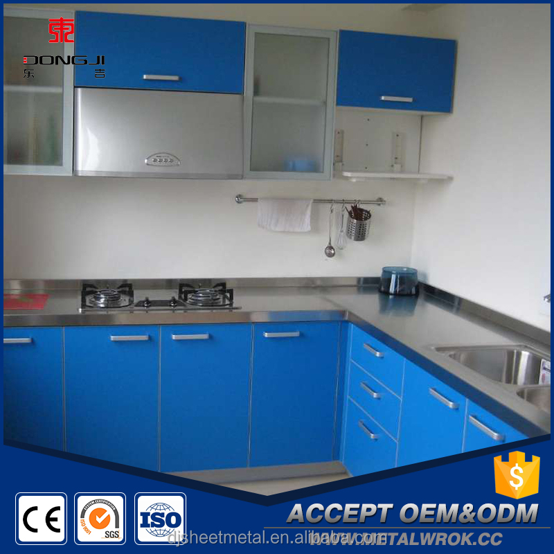 2016 Fashion Design Metal Kitchen Cabinet