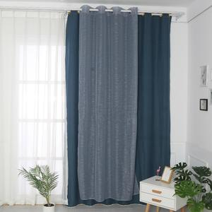 hot sale custom fancy decorating window drapes for living room