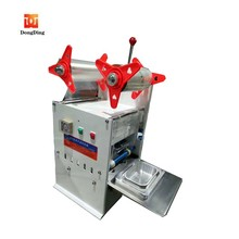 Automatic plastic cups sealing machine/fast food box sealer