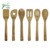 kitchen 100% bamboo utensil sets, cooking stool with spoon holder
