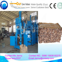 Water proof waste paper baler machine/garbage compressor machine