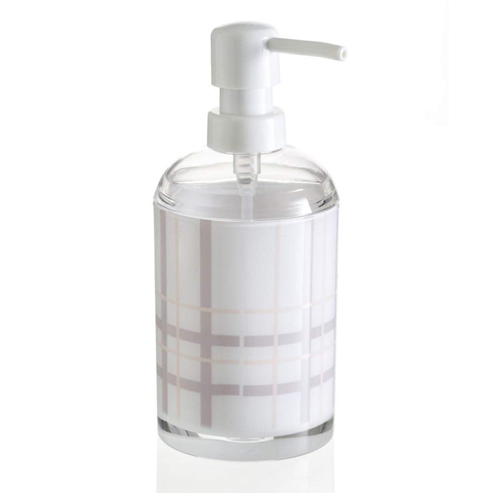 Bathroom soap Dispenser Emulsion Bottle Push Type Hand soap Bottle soap Pump Bath Bottle-7.519Cm-B