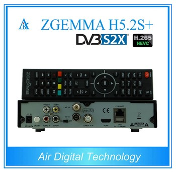 Dual Core Digital Zgemma H5 2s Plus Hevc Decoder Dvb-s2+dvb-s2/s2x/t2/c  Triple Tuners At Factory Price - Buy Zgemma H5 2s Plus Combo