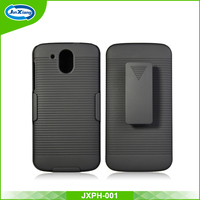 new products belt clip case with kickstand for htc desire 526
