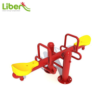 Outdoor Equipment Metal Spring Seesaw For Kids LE.QB.036