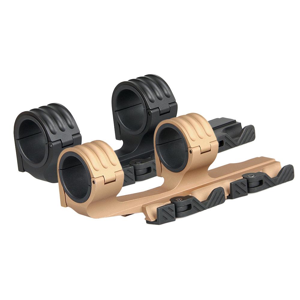 AR 15 umfang mount aluminium 30 oder 35mm doppel ring QD passt 21,2mm picatinny schiene für jagd HK24-0164