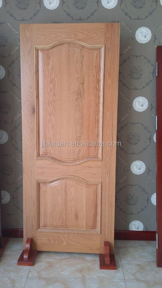 Massief hout fineer mdf binnendeur het maken van mdf deur for Wood veneer interior doors