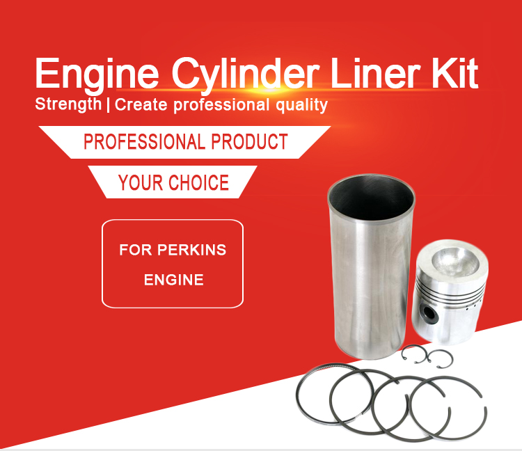 WMM Engine Parts Piston, Liner and Ring Generator Parts Diesel Generator Set Cylinder Liner Piston Ring Kit for Engine 3.152