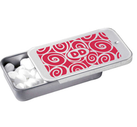 Wholesale Slide Top Open Metal Pill Tin Box