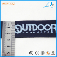 40mm black Top grade Classic manufacture jacquard ribbon