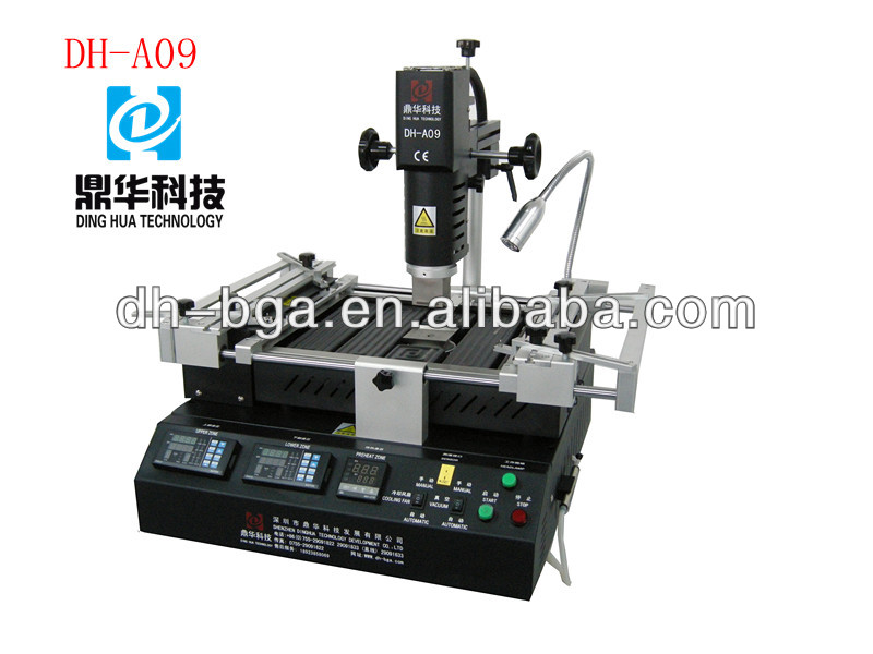 DH-A09 Hot Air Infrared BGA Rework Station With Three Independent heaters For Laptop Cellphone Motherboard Chip Repair