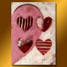 Popular LOVE topic canvas painting decoration