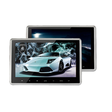 Tablet Style 9inch/10.1inch active headrest touch screen headrest monitor