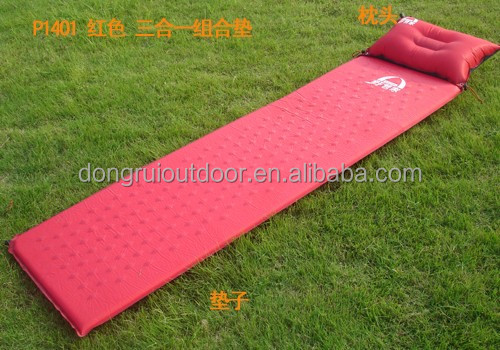 Light self Inflatable Picnic Camping Mat Air Bed Sleeping Pat Mattress