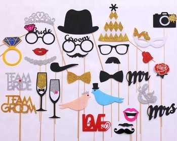 8628083969b Love Bird Groom Bride Shower Theme Photo Booth Props Wedding Decoration