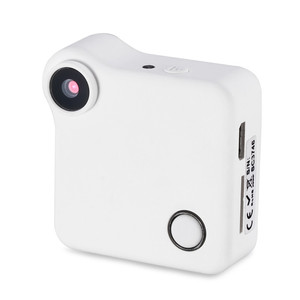 HD 720P WIFI P2P Wearable Mini IP Camera Motion Sensor With Magnetic Clip