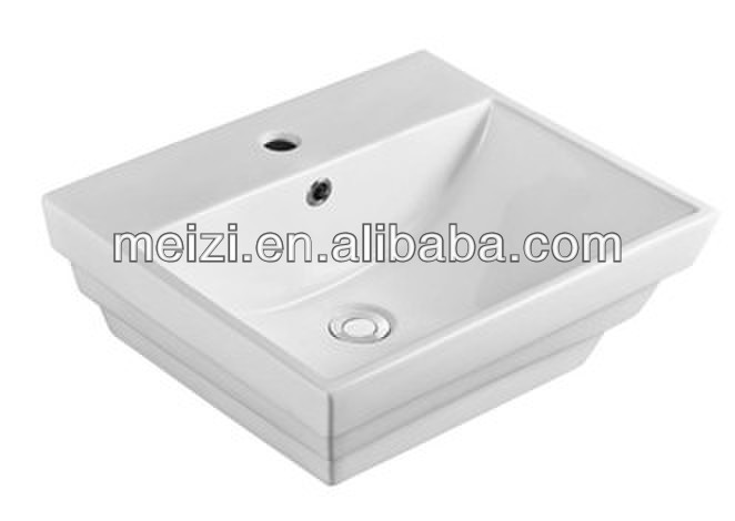 Ceramic modern bathroom medical wash basin