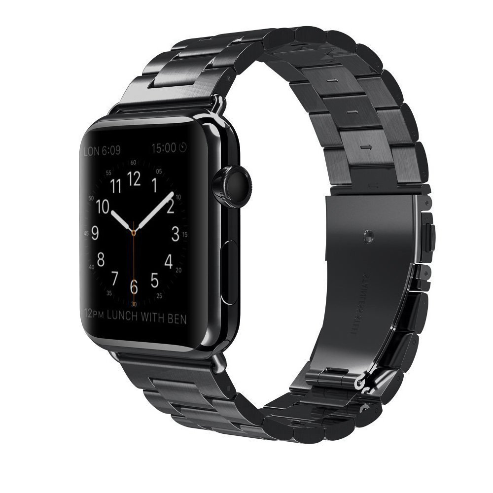 Buy Apple Watch Band Stainless Steel Durable Folding Clasp Smart Sport 42mm Replacement Bands For